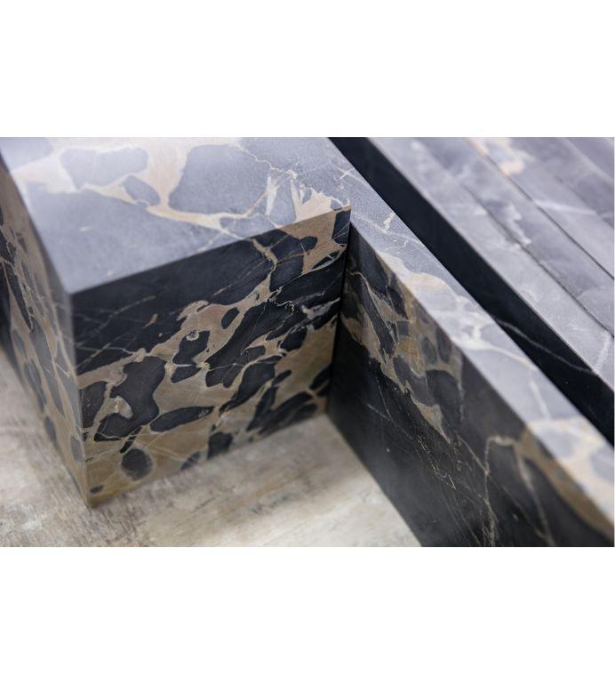 marble bespoke fireplace