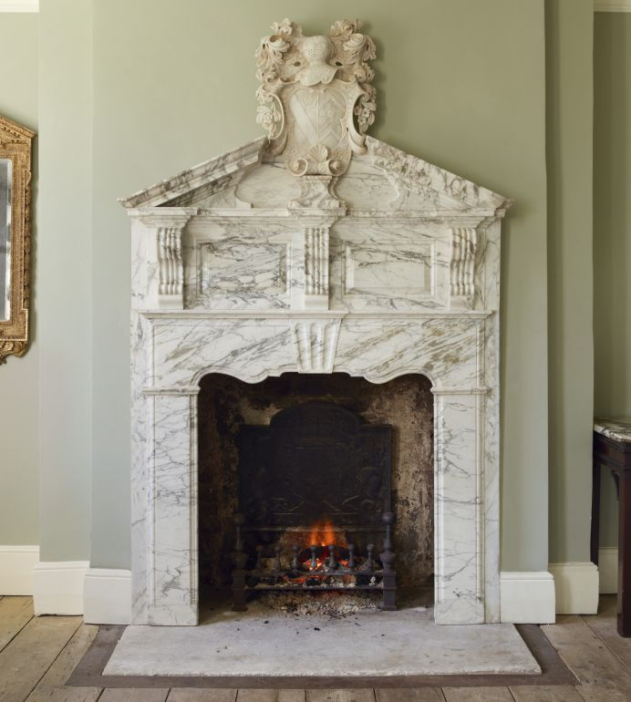 Exquisite Antique Fireplaces from the 17th, 18th and 19th Centuries.