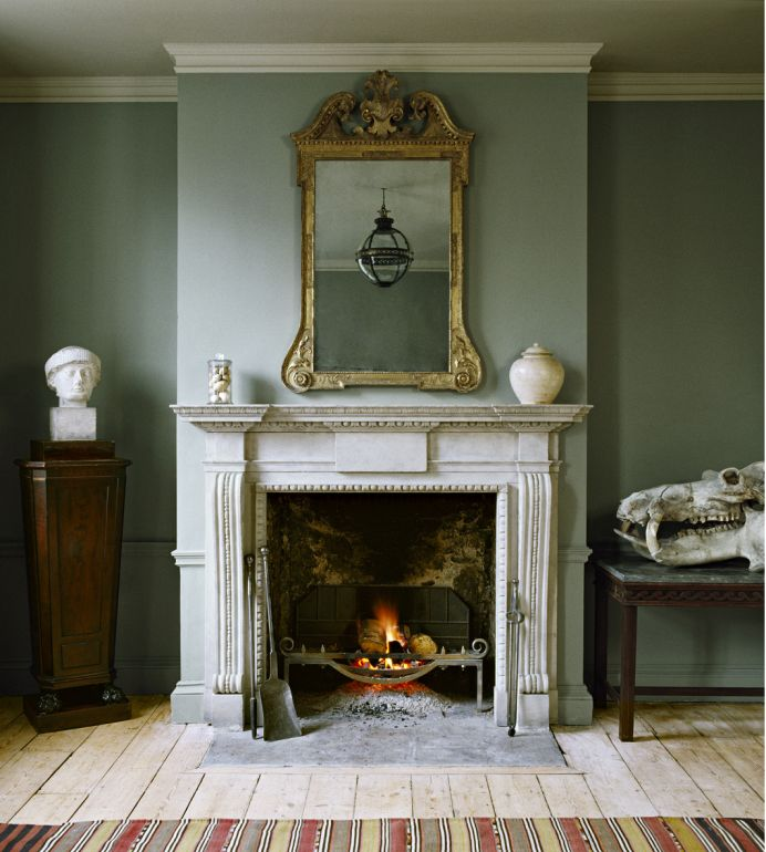 Stone Antique Fireplaces