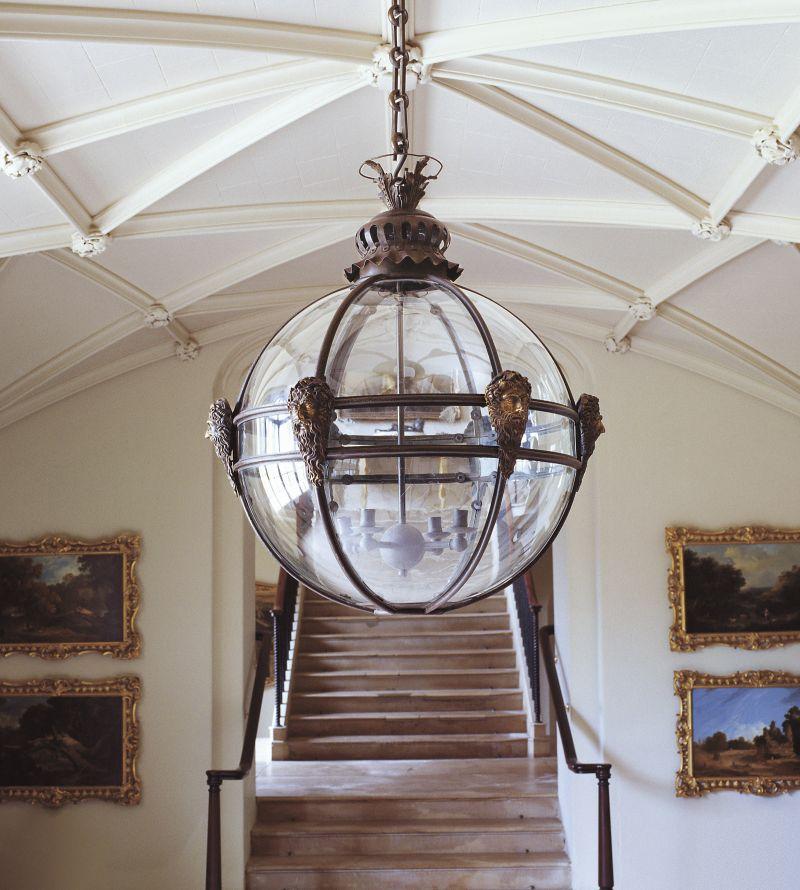 Mask Globe Lantern