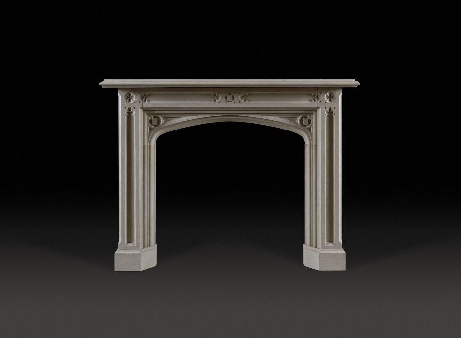 Abbotsford Stone Fireplace