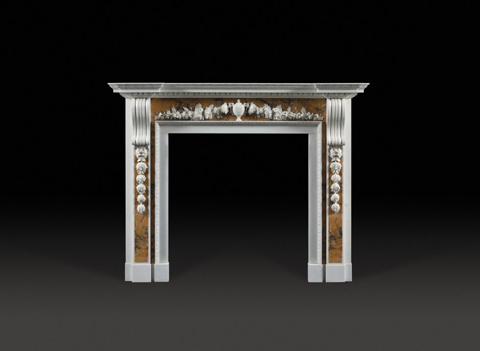 Reproduction Georgian Fireplaces Part - 38: Cheere Marble Fireplace