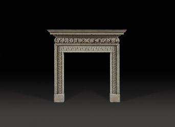 Dyrham Stone Fireplace