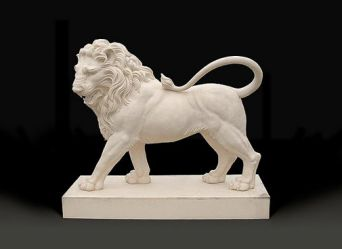 Statant Lion Bespoke Sculpture