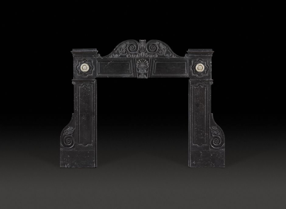 irish antique fireplace
