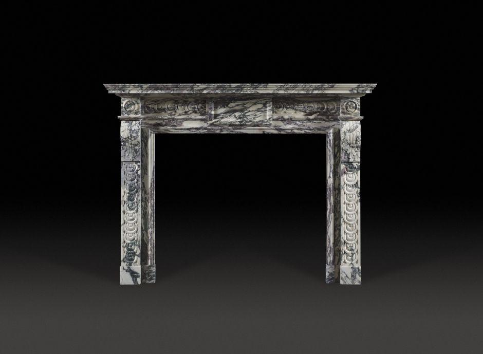 Garendon Marble Fireplace