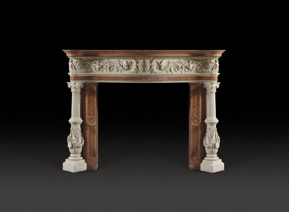 renaissance antique fireplace