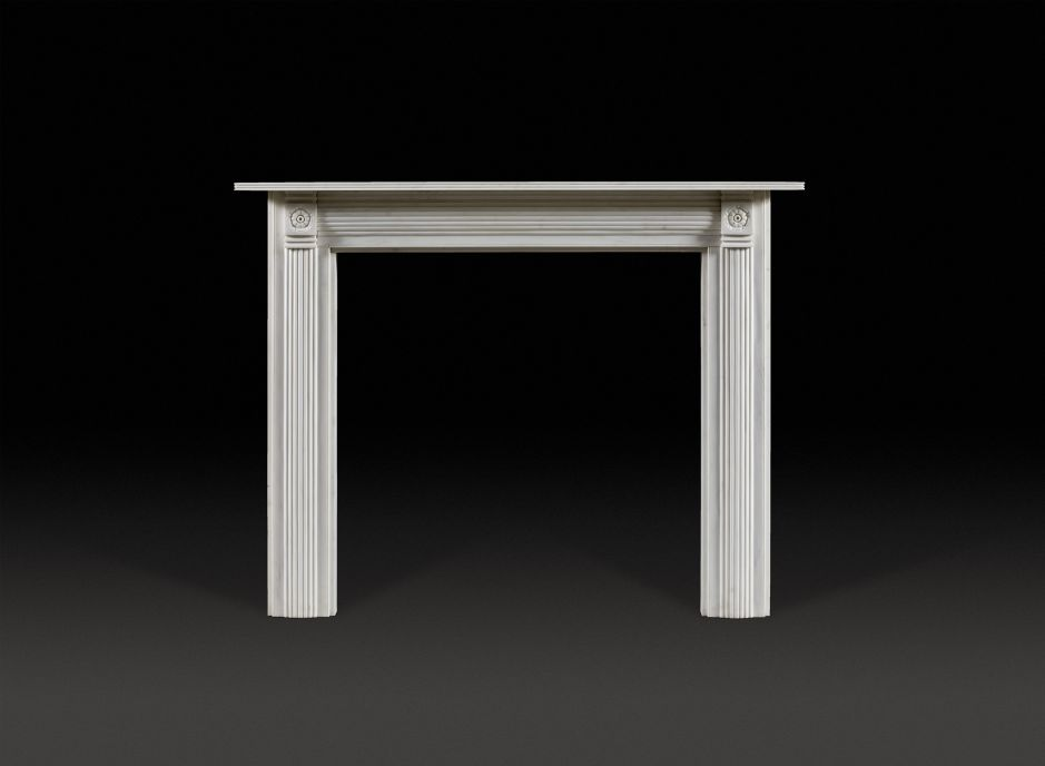 Longbourn Marble Fireplace
