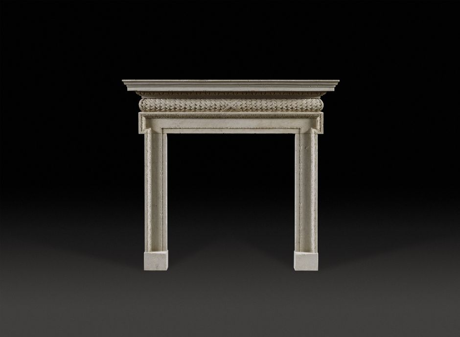 Pembroke Stone Fireplace