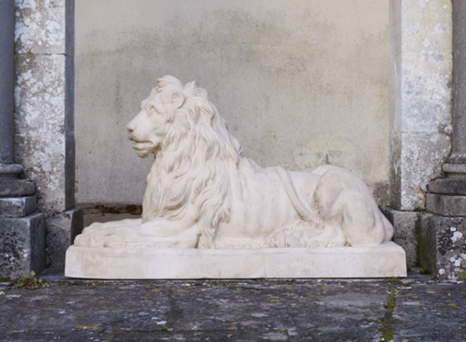 Couchant Lion, West