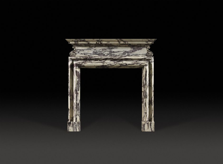 St. James Marble Fireplace
