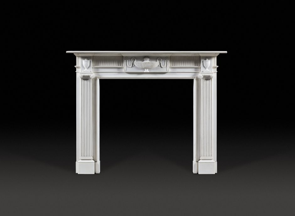 Stourton Marble Fireplace