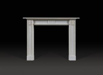 Wellington Marble Fireplace