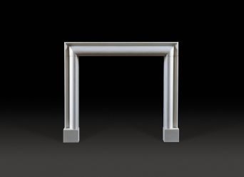 Bolection Marble Fireplace