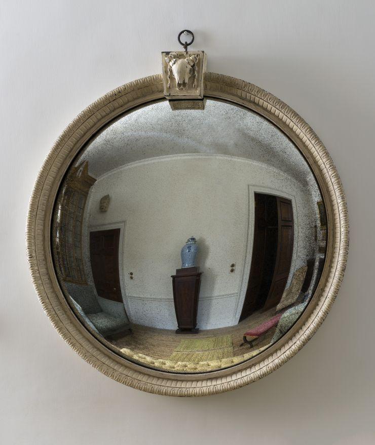 Convex Bucranium Mirror