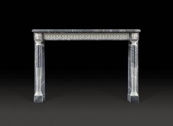 Daumet Marble Fireplace
