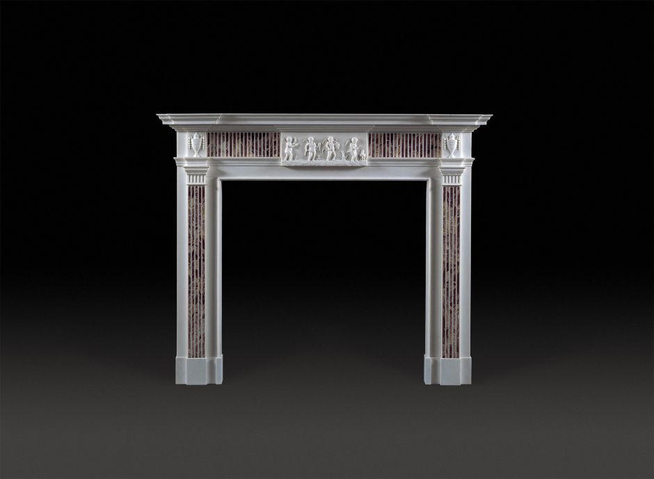Four Seasons Marble Fireplace
