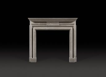 Lutyens Bolection Marble Fireplace