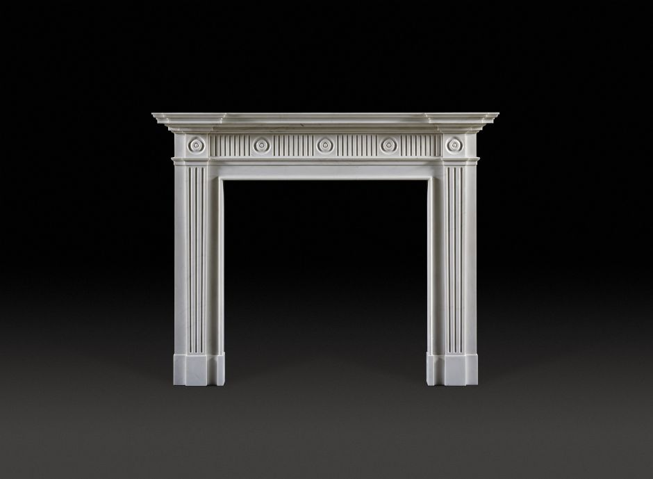 Milton Marble Fireplace