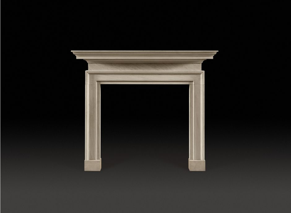 Montford Stone Fireplace