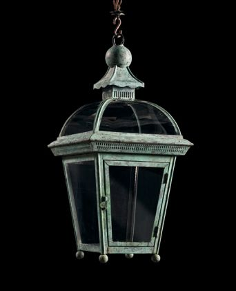 Dome Topped Hanging Lantern
