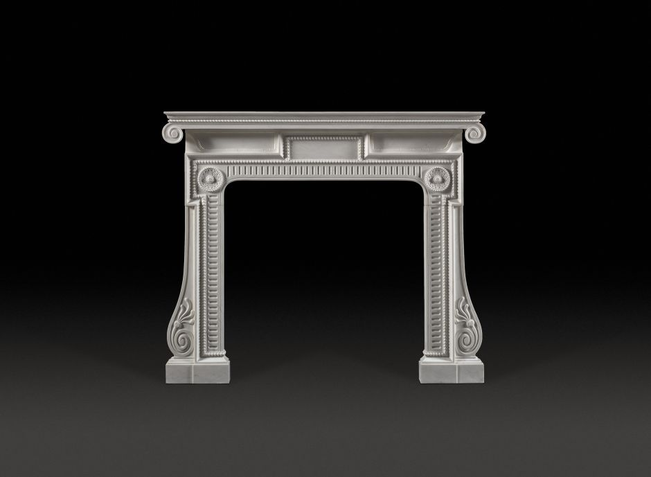 Piranesi Marble Fireplace