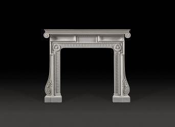 Piranesi Marble Fireplace
