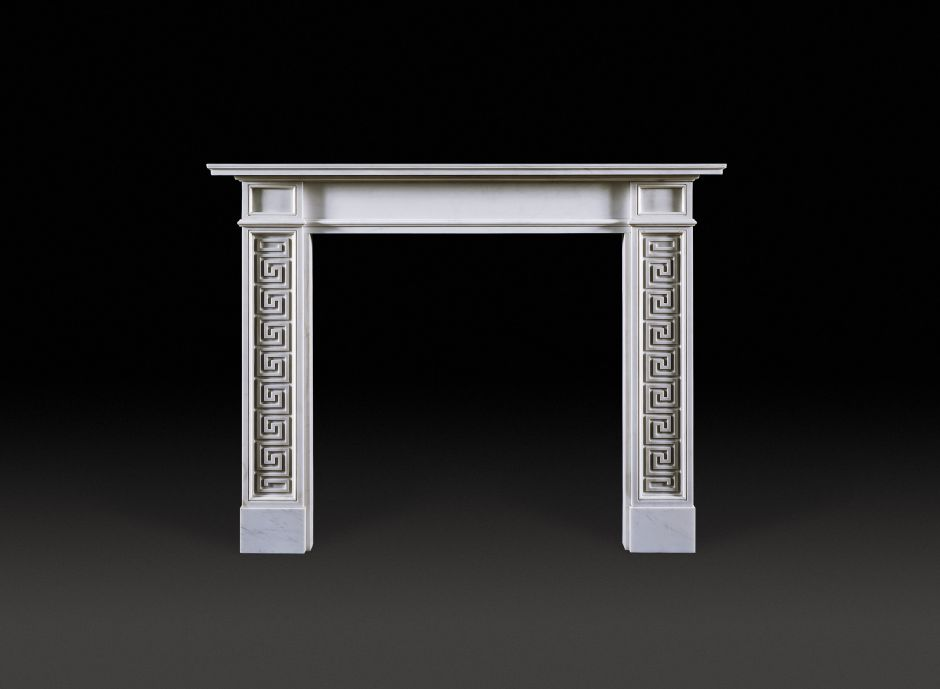 Pocock Marble Fireplace