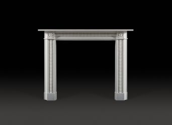 Talbot Marble Fireplace