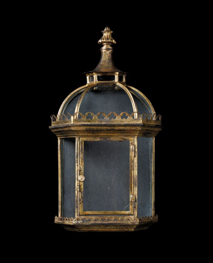 Antique Distressed Gilt